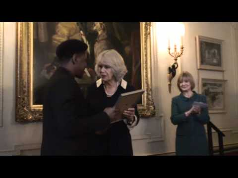 The Duchess of Cornwall presents the Joanna David Award