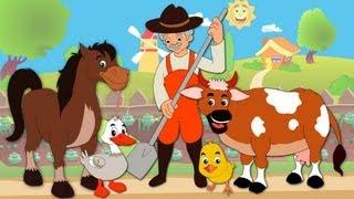 Old MacDonald | Animal Sound Song | Old MacDonald Had A Farm | Nursery Rhyme