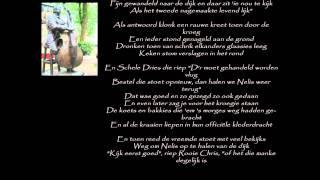 terug keer van Manke Nelis B kant van de plaat begrafenis van Manke Nelis  : Door Johnny Jordaan