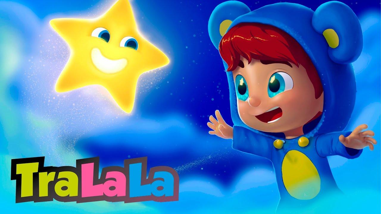 Strălucește, mică stea (Twinkle, Twinkle, Little Star în română) | TraLaLa