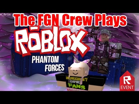 The FGN Crew Plays: ROBLOX – Phantom Forces Official Release (PC