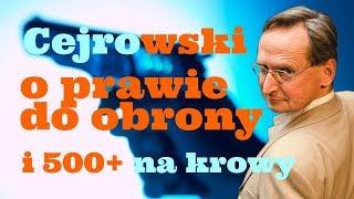 Cejrowski o prawie do obrony i 500+ na krowy 2019/04/09 Radiowy Przegląd Prasy Odc. 993
