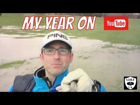 MY FIRST YEAR ON YOUTUBE GOLFING WITH GOLF MATES