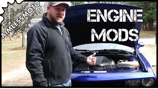 Dodge Challenger R/T Catch Can Install | K&N Install | Engine Dress Up