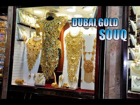 DUBAI GOLD SOUQ IN DEIRA BY BEING HUNGRY SRI LANKA.