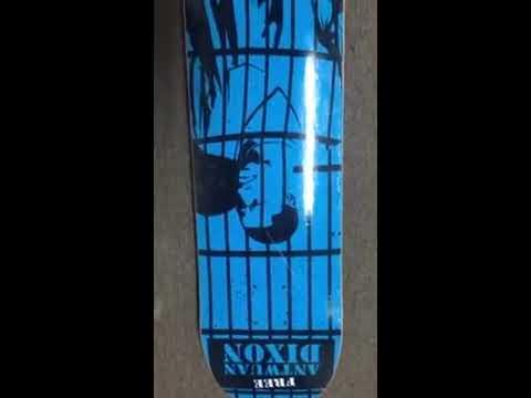 Deathwish Antwuan Dixon Free Antwuan Skateboard Deck Prison Unboxing