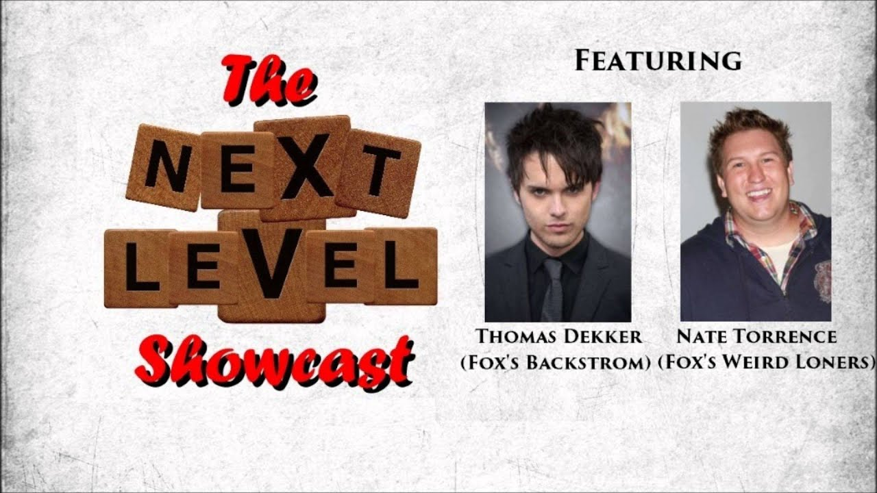 Download Showcast - S02 E12 - Thomas Dekker (Backstrom) & Nate Torrence (Weird Loners) Interviews
