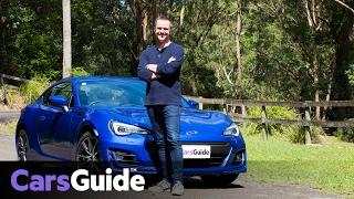 Subaru BRZ Manual 2017 Review | Road Test Video