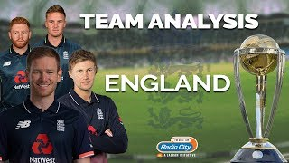 ICC Cricket World Cup - Team Analysis : England   A Real Chance To Win It This Time