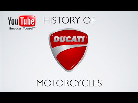 History of Ducati Motorcycles