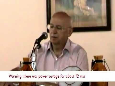 Christian Meditation  Retreat in Paraguay 2012 (Talk 03)