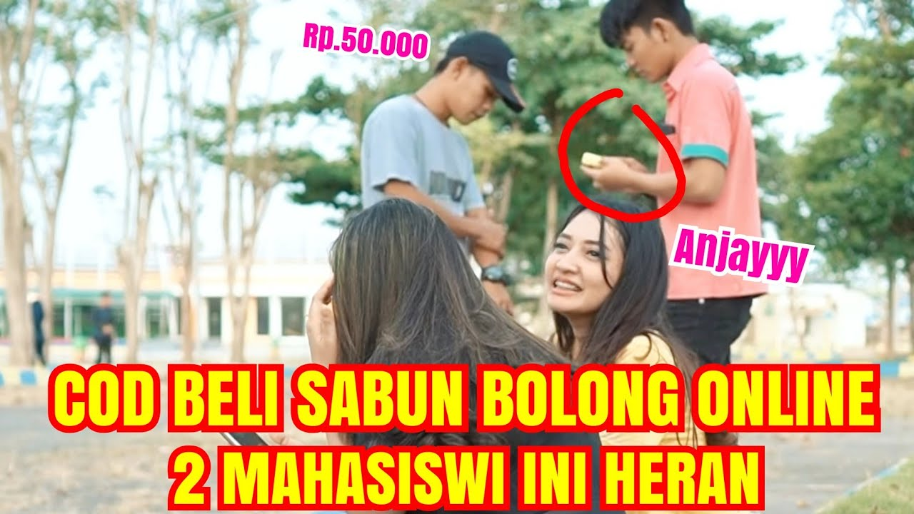 PRANK BELI SABUN BOLONG MAHAL BANGET