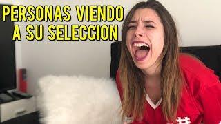TIPOS DE PERSONAS CUANDO JUEGA SU SELECCIÓN | #ElOtroLado | Lyna Vlogs
