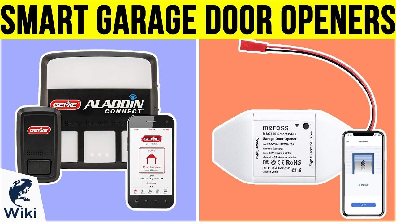 Top 10 Smart Garage Door Openers of 2019 | Video Review