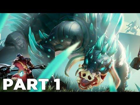 DAUNTLESS Walkthrough Gameplay Part 1 - INTRO (Quillshot Boss)