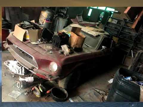 Rao bán Ford Mustang quý hiếm bị bỏ hoang 30 năm giá 1,6 tỷ