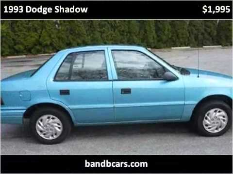 Sundance Used Cars >> 1993 Dodge Shadow Used Cars Providence RI - YouTube