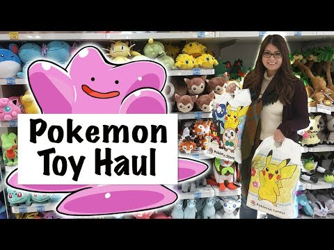 POKEMON HAUL! || What I Bought At The Pokemon Center in Japan