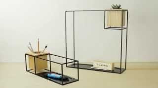 Cubist Wall Shelf