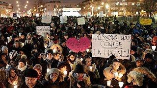 Canadians hold vigils for Muslim victims of Quebec terror attack