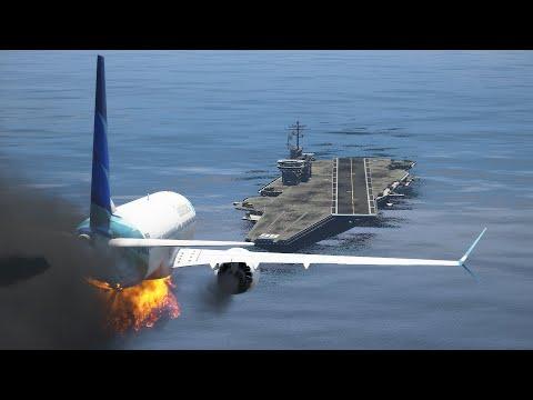 Garuda 737-MAX9 Emergency