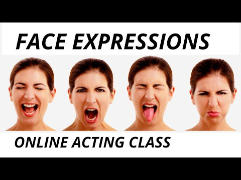 BOLLYWOOD ACTING EXERCISE-5 Face Expressions