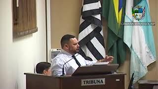 19ª Sessão Ordinária - Vereador Walmir Chaveiro