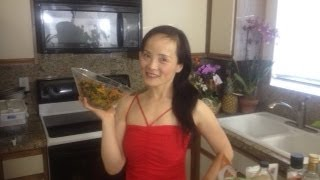 Kale Salad With Loving Massage