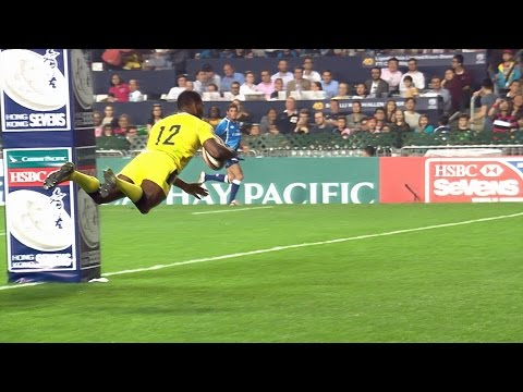 Walker blitzes defence to score epic try in Hong Kong - RE:LIVE!