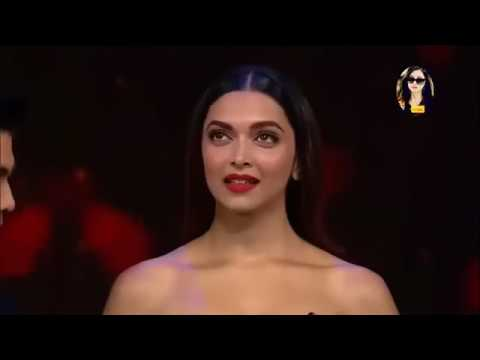 Shahrukh khan & deepika at lux golden awards  2017   YouTube
