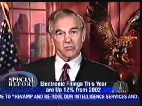 Former IRS Agent Joe Banister and Ron Paul On CNBC
