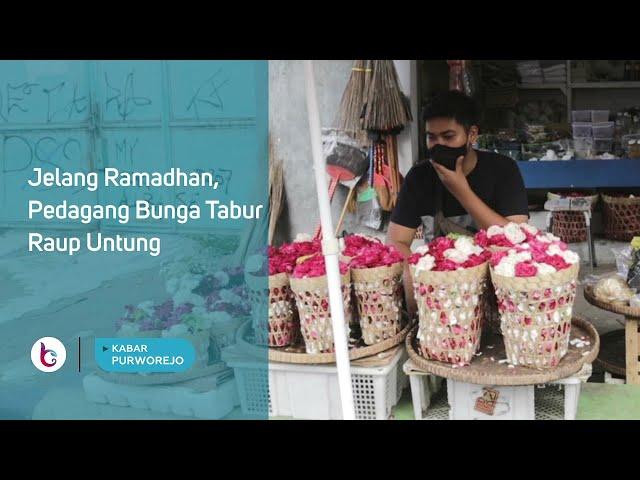 Jelang Ramadhan, Pedagang Bunga Tabur Raup Untung