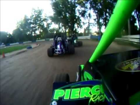 Starlite Speedway, 600 Wingless Micro Sprint Hot Laps and Heat, 6/27/14