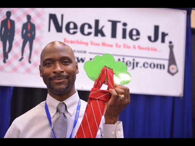 Necktie Tying Tool For Kids   Part 1 (Necktie Jr)
