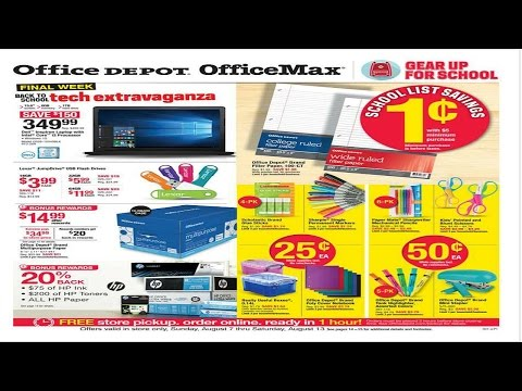 Office Max Deals WK. Of 8/7-8/13/16-.25 Cent Items!