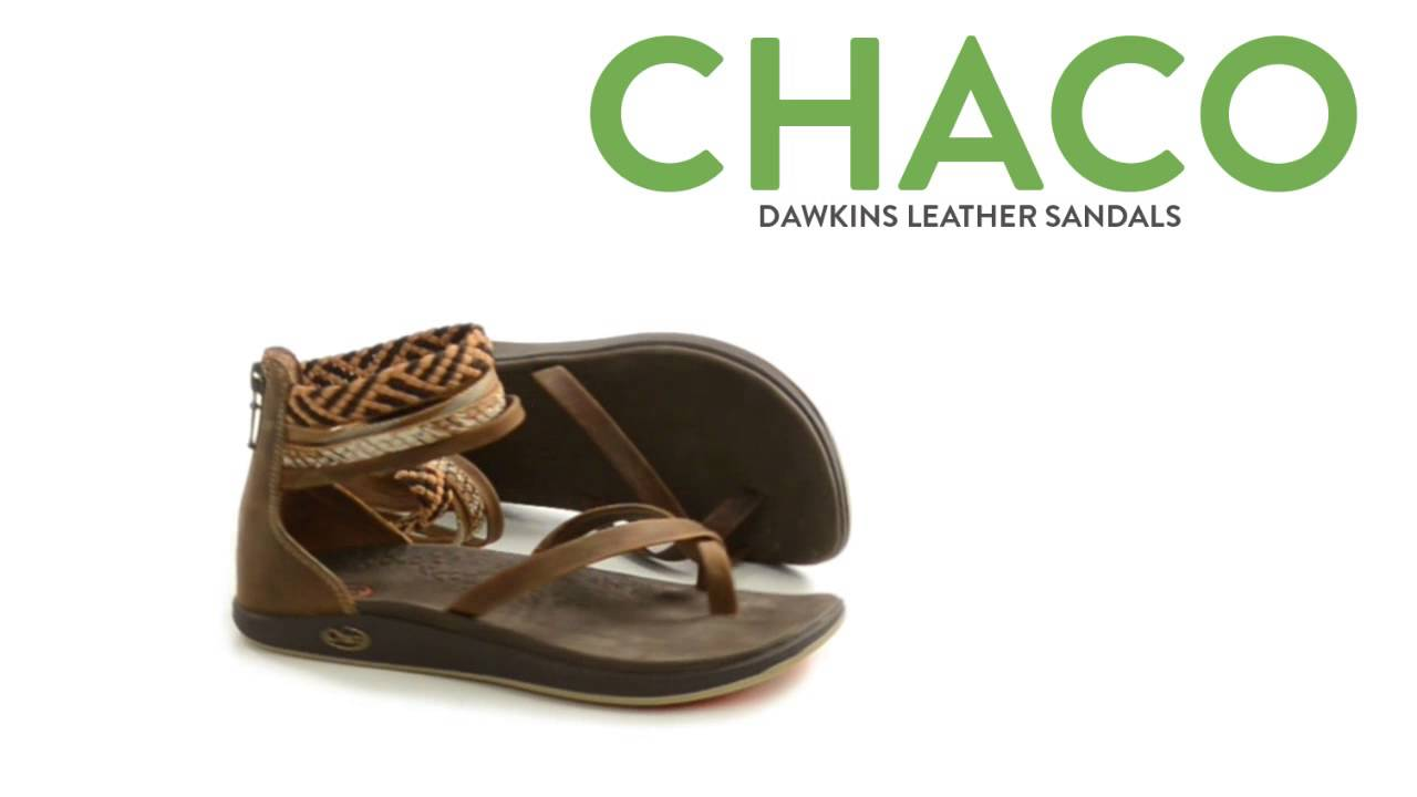 22cc71e6ff66 Chaco Dawkins Sandals - Leather (For Women) - YouTube
