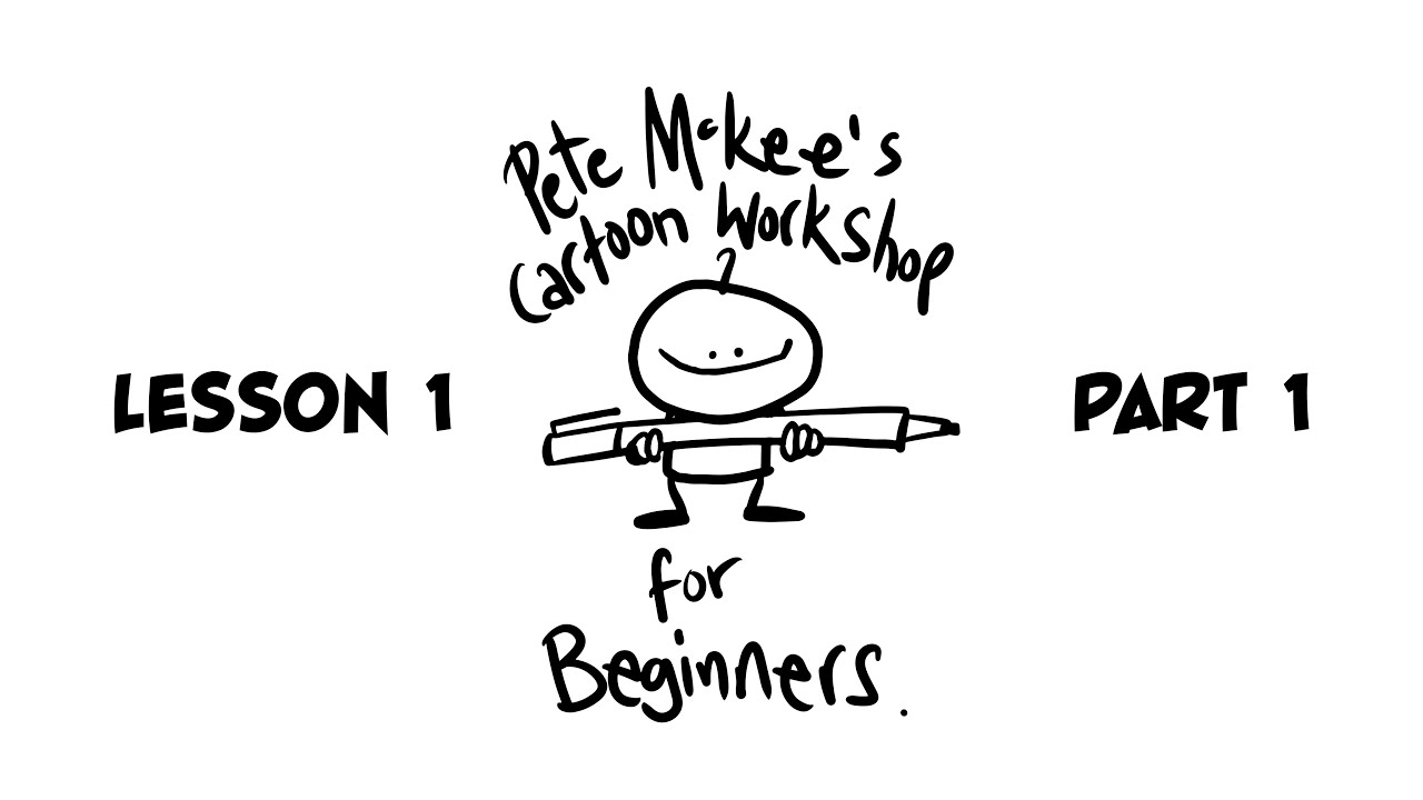 Cartoon Workshop Lesson 1 - Part 1: Faces - YouTube