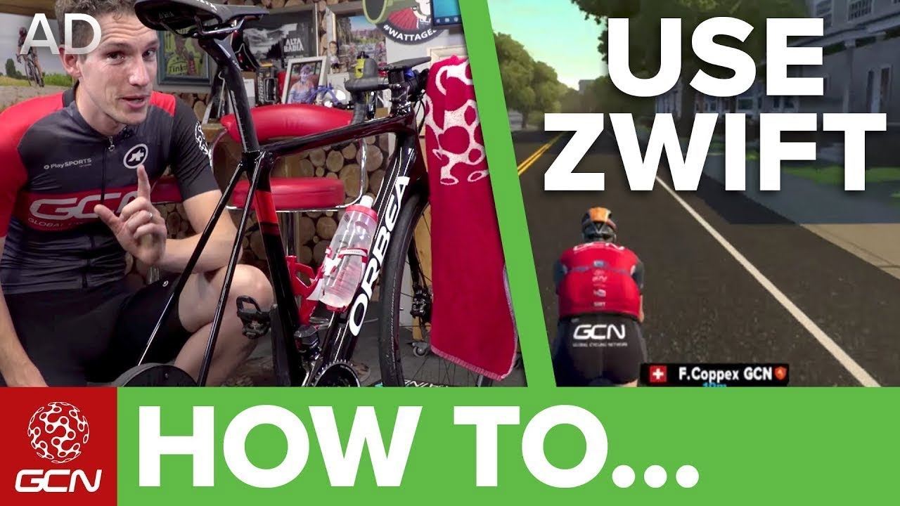 4da614031a6 How To Use Zwift | Zwift For Beginners - YouTube