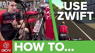How To Use Zwift | Zwift For Beginners