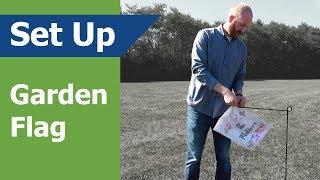 Garden Flag: How to Setup - (Vispronet)