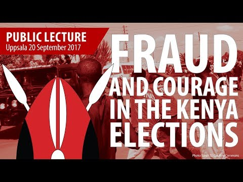 Fraud and courage in the Kenya elections