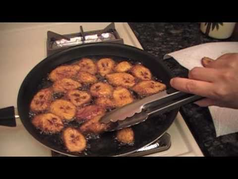 Sweet Fried Plantains / Plátanos Maduros