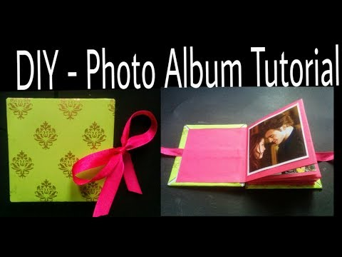 DIY - Photo Album Tutorial | How to Make Photo Album | Handmade Photo Album