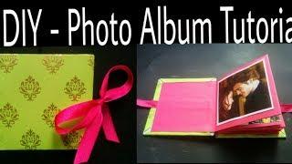 DIY - Photo Album Tutorial   How to Make Photo Album   Handmade Photo Album