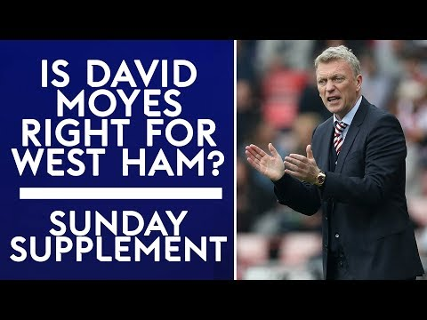 Is David Moyes right for West Ham?   Sunday Supplement   Full Show   5th November 2017