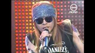 yo soy axl rose peru 25 junio completo guns and roses roquet queen imitador cesar osorio