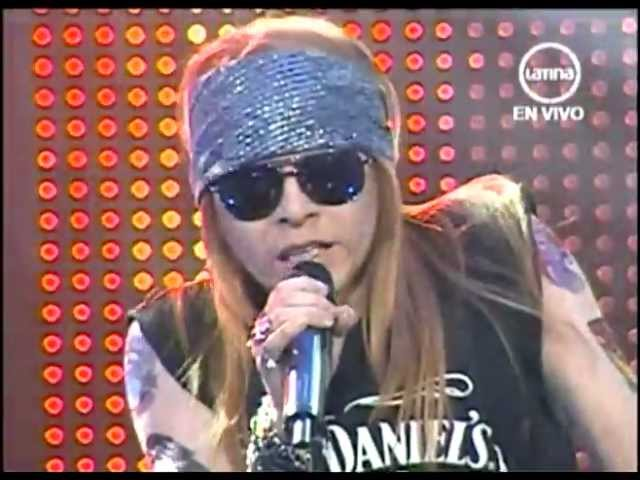 Yo soy Axl Rose peru/  25 junio COMPLETO Guns and Roses