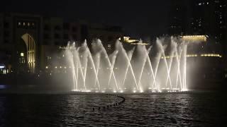 Burj Khalifa/Dubai Mall Dancing Fountains