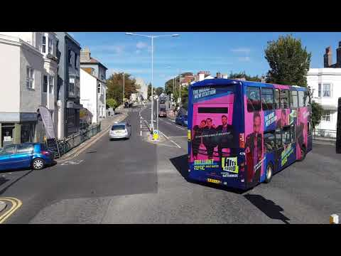 Brighton & Hove Bus 78: Stanmer Park [whole Route]