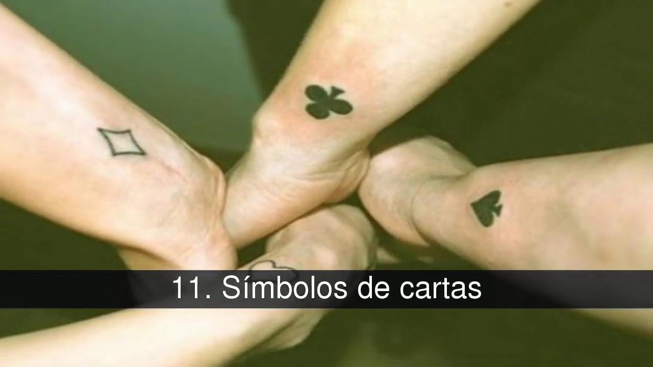 Los Tatuajes Más Bonitos Para Hacerse En Pareja O Con Amigos Youtube